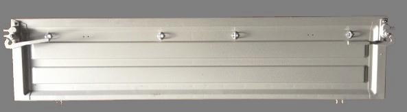 Борт задний на Газель (без крюков) 1,97м