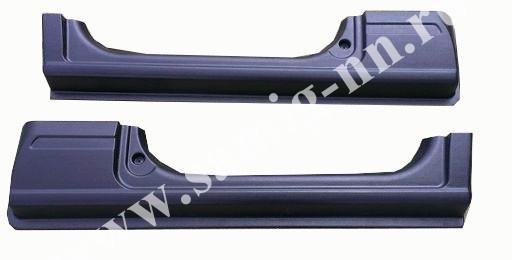 Комплект защитных накладок на пороги и двери Газон Next