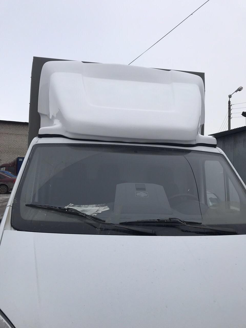 Обтекатель Next-comfort белый, высота фургона 2,2 м