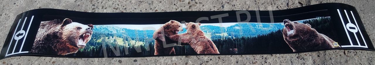 Защитная лента для задних колёс «Бурый медведь»