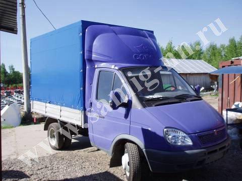 Обтекатель цветной «GAZelle фургон», надпись «Corona» на Газель 200 см
