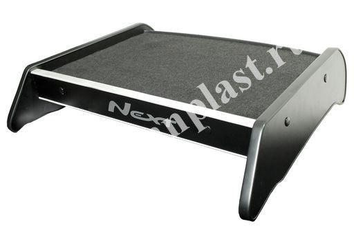 Столик на панель Газели NEXT (кожа)