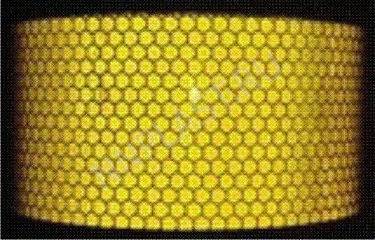 Светоотражающая лента желтая