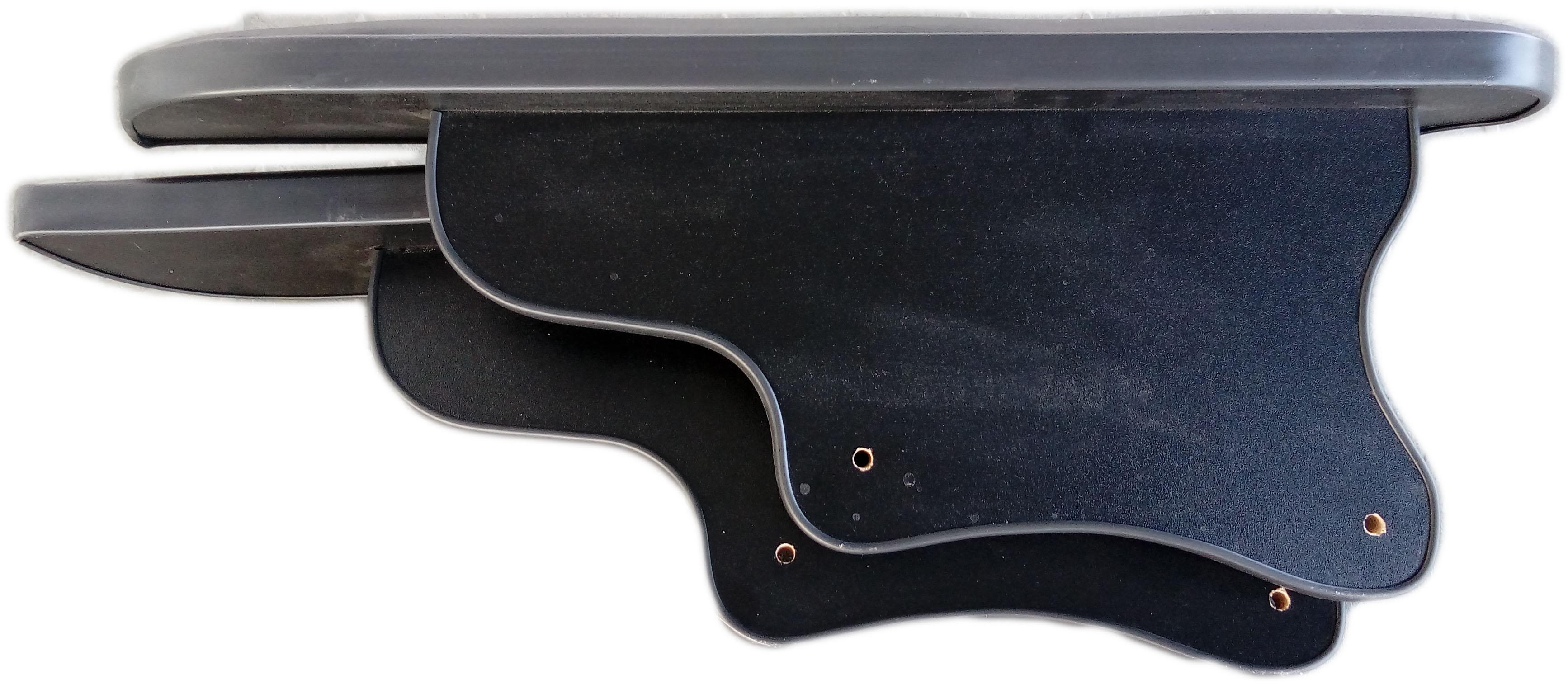 Подлокотник «Олимп» с черной окантовкой (комплект)
