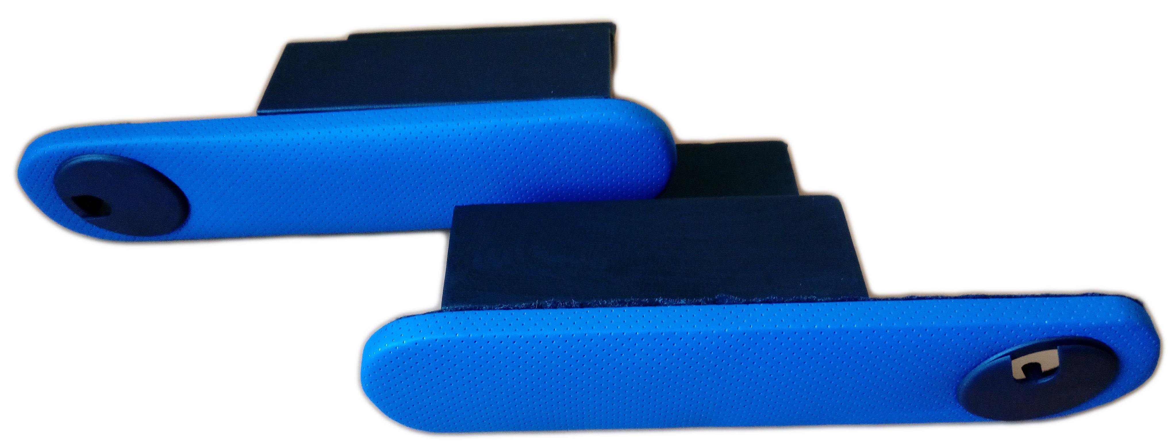 Подлокотник Рич с подстаканником синий комплект