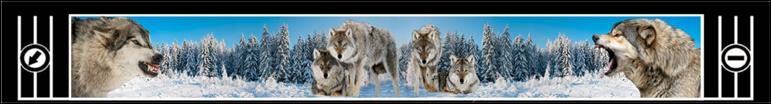 Защитная лента задних колес «Волки» 32 x 205