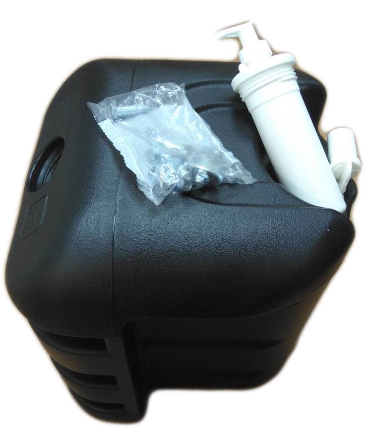 Пластиковый бак для воды с емкостью для мыла (рукомойник)  30 литров
