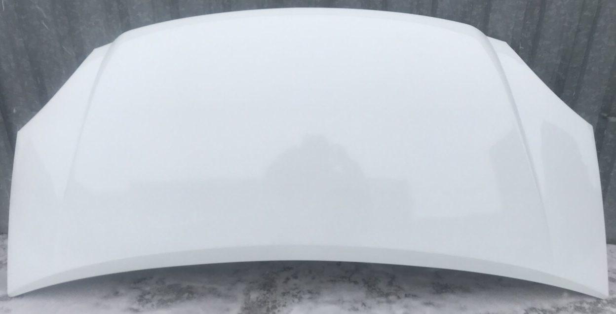 Капот заводской Газель цвет белый — 202