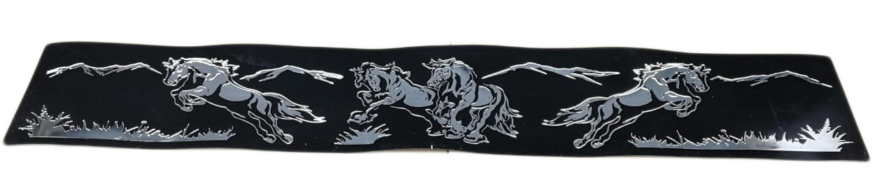 Защитная лента задних колес «Кони»