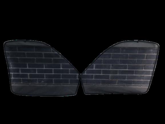 Боковые шторы (сеточка) на магнитах на Газель