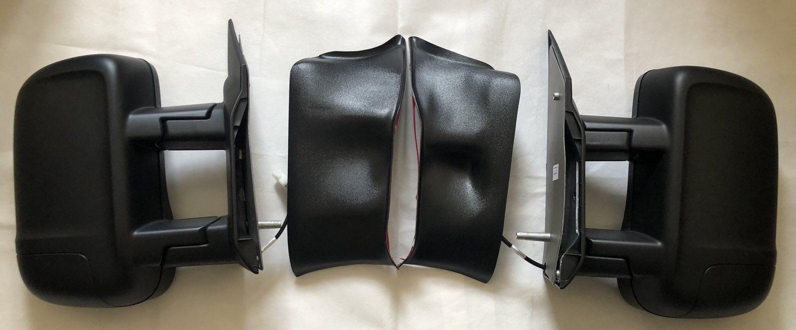 Грязезащитные заглушки в зеркала Некст