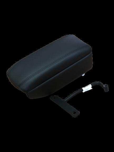 Подлокотник правый откидной с бардачком (материал экокожа)